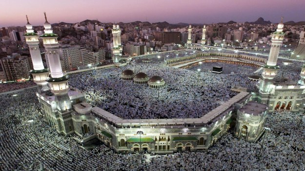 Muslims in Mecca