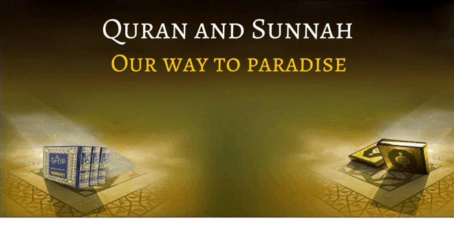 Quran, Sunnah and consensus of Muslims are the three sources of legislation in Islam