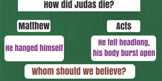 How did Jesus die? A contradiction between Gospel of Matthew and Acts