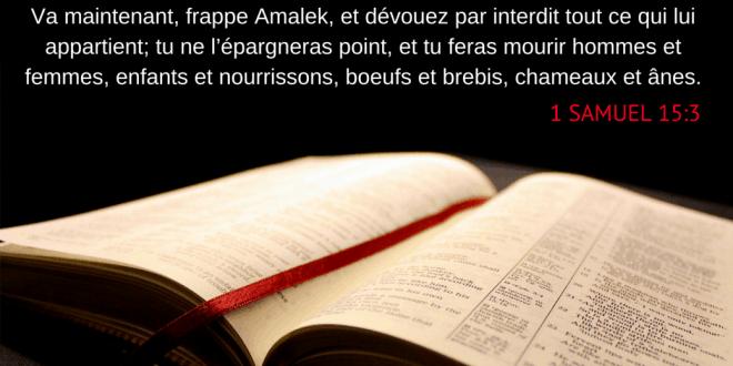 La guerre dans la Bible