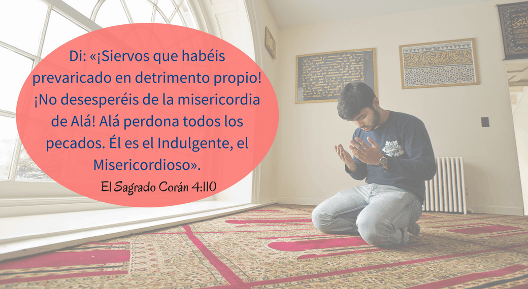 53. Di: «¡Siervos que habéis prevaricado en detrimento propio! ¡No desesperéis de la misericordia de Alá! Alá perdona todos los pecados. Él es el Indulgente, el Misericordioso».